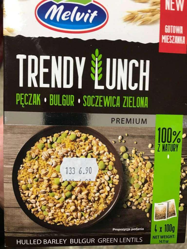 Trendy Lunch pęczak, bulgur, soczewica Melvit
