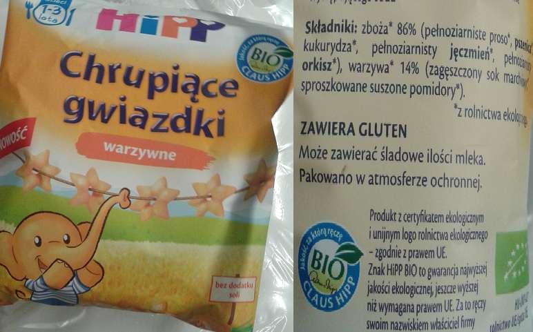 Gwiazdki warzywne HiPP