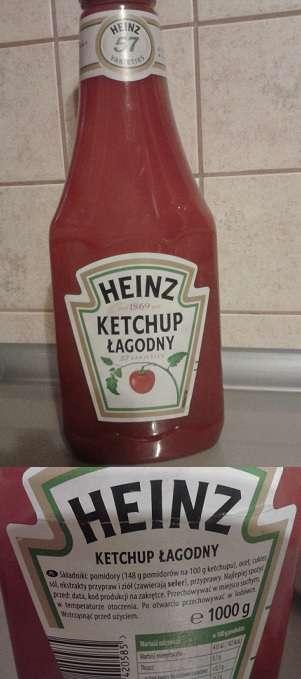 Ketchup łagodny Heinz