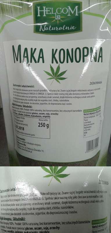 Mąka konopna Helcom Naturalnie