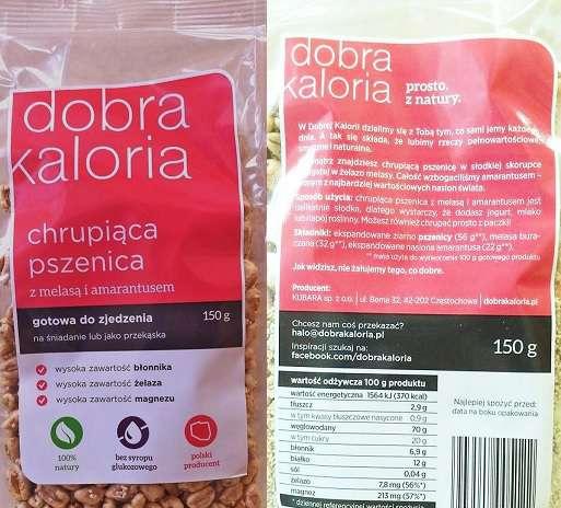 Chrupiąca pszenica Dobra Kaloria