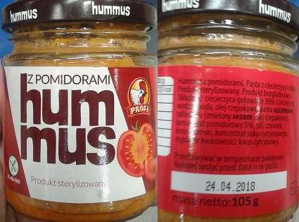 Hummus z pomidorami PROFI