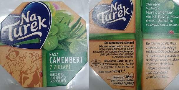 Camembert z ziołami NaTurek