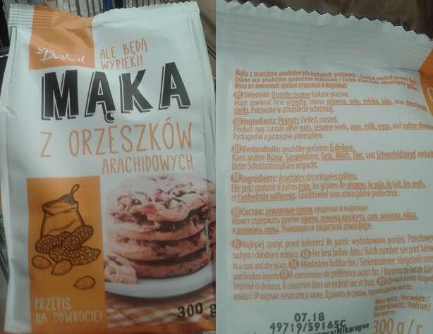 Mąka arachidowa BAKAL