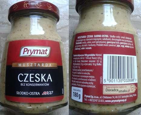 Musztarda czeska Prymat
