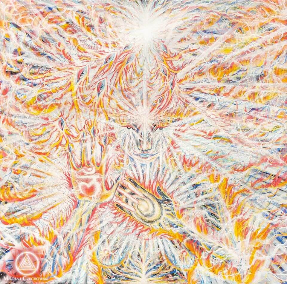 Czakra podstawy symbolicznie w energii żeńskiej. (2)