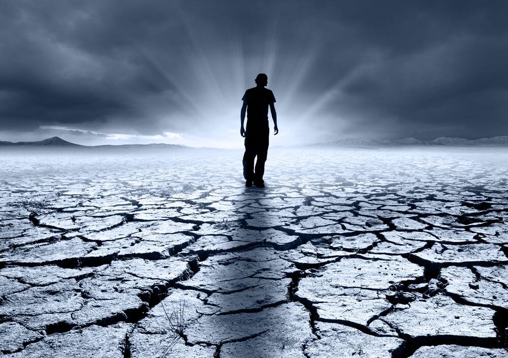 ziemia susza człowiek